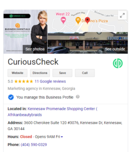 google ads and business pages google